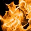 ild efter afbrænding af olie