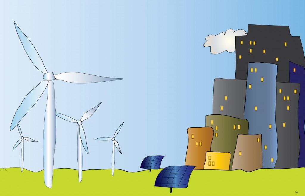 solceller er en del af løsningen ikke problemet